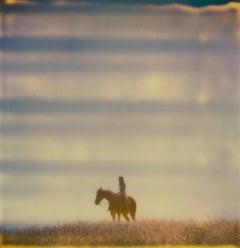 Renée's Dream XI (Days of Heaven) - Landscape, Horse, Polaroid, 21st Century