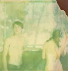 Renée's Dream XIV (Days of Heaven) - Landscape, Horse, Polaroid, 21st Century