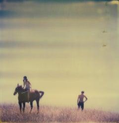 Renée's Dream XV (Days of Heaven) - Landscape, Horse, Polaroid, 21st Century