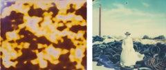 Rodeo Grounds - Till Death du us Part - diptych, 128x150cm and 128x126cm