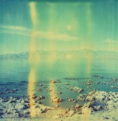 Salt 'n Sea (California Badlands) Contemporary, Landscape, Polaroid, Land, dream