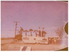 Salton Baptistes (California Badlands) Contemporary, Landscape, Polaroid