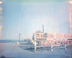 Salton Sea Beach (California Badlands) - Contemporary, Polaroid, 21st Century