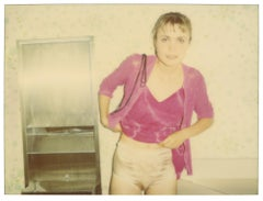 Silver Panties - Suburbia - Contemporary, Polaroid, Analog, Color, Photography