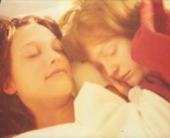 Sleeping Beauties (Till Death do us Part) Contemporary, Woman, Polaroid