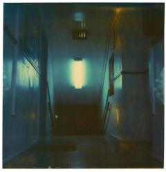 Stairway (Suburbia) - Contemporary, Polaroid, Photography, Portrait
