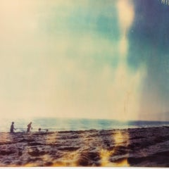 Summer - mounted - Contemporary, Figurative, Landscape, Polaroid, 21stCentury