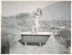 Sundays (Heavenly Falls) - Contemporary, 21st Century, Polaroid, Nude