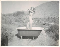 Sundays (Heavenly Falls) - Contemporary, 21st Century, Polaroid, Nude