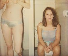 'Taking Turns' 21st Century, Polaroid, Nude Photography, Color