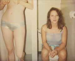 'Taking Turns' -  21st Century, Polaroid, Nude Photography, Color