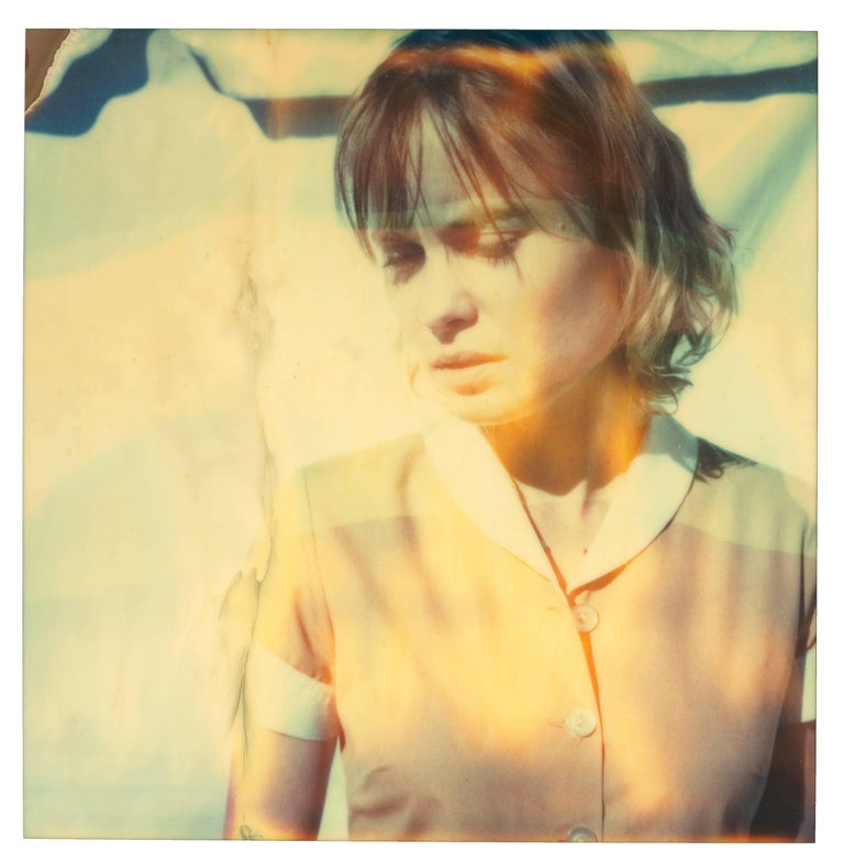 The Farmer's Wife's Dream, diptych, based on 2 SX-70 Polaroids - Contemporary Photograph by Stefanie Schneider