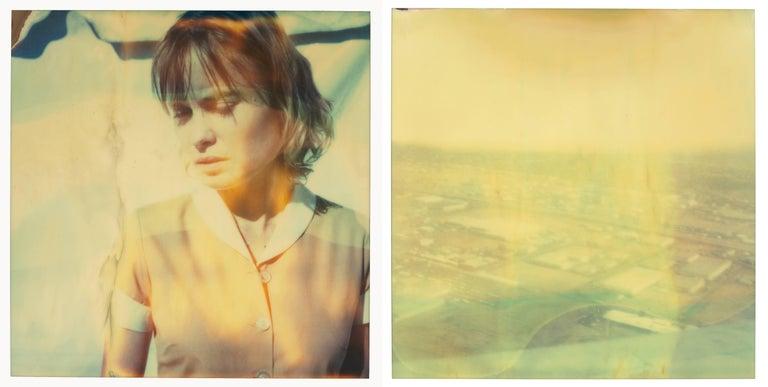Stefanie Schneider Landscape Photograph - The Farmer's Wife's Dream, diptych, based on 2 SX-70 Polaroids