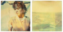 The Farmer's Wife's Dream, diptych, based on 2 SX-70 Polaroids