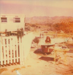 The Girl I (The Girl behind the White Picket Fence) - Contemporary, Polaroid