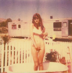 The Girl II (The Girl behind the White Picket Fence) Polaroid, Nude, Contemporar