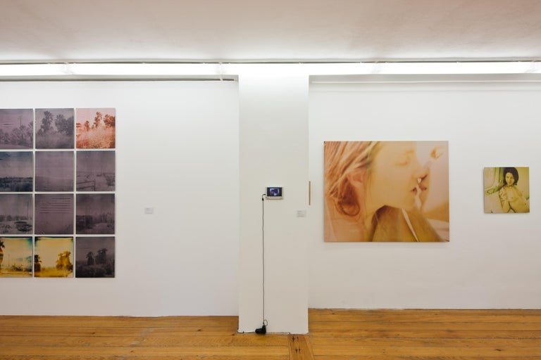 The Kiss (Sidewinder) - Polaroid, 21st Contemporary, Contemporary, Color - Photograph by Stefanie Schneider