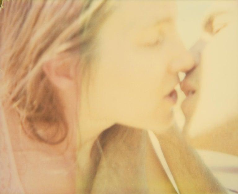 Stefanie Schneider Portrait Photograph - The Kiss (Sidewinder) - Polaroid, 21st Contemporary, Contemporary, Color
