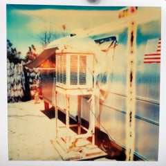 The Millennial Falcon (Sidewinder), analog, 38x36cm - Polaroid, 21st Century