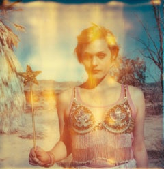 The Muse - Contemporary, Figurative, Woman, Polaroid, photograph, instantdreams