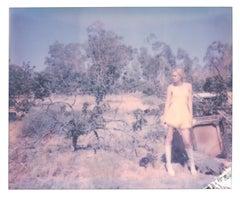 The Point of no Return (Heavenly Falls) - Polaroid, Contemporary, Women