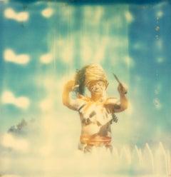 The Shaman  (The Girl...) - Polaroid, Contemporary, 21st Century, Color, Photo