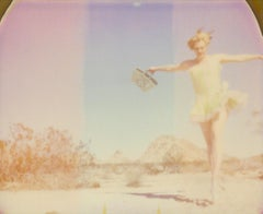 The Sound of Music (29 Palms, CA) - Contemporary, Figurative, Woman, Polaroid
