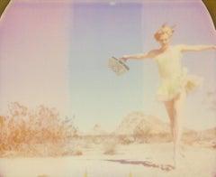 The Sound of Music - Contemporary, Figurative, Woman, Polaroid, Photograph