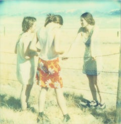 Three Girls II (Last Picture Show) - Polaroid, Contemporary, 21st Century, Color