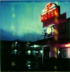 Thunderbird Motel (The Last Picture Show) - analog, Polaroid, Contemporary