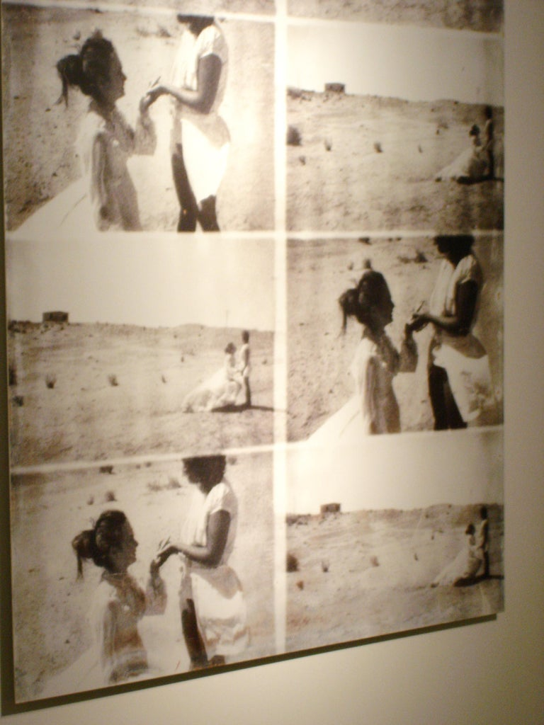 Till Death Do Us Part, Installation - Gray Black and White Photograph by Stefanie Schneider