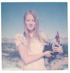 Time stands Still (Chicks and Chicks and sometimes Cocks) - Polaroid, Rooster