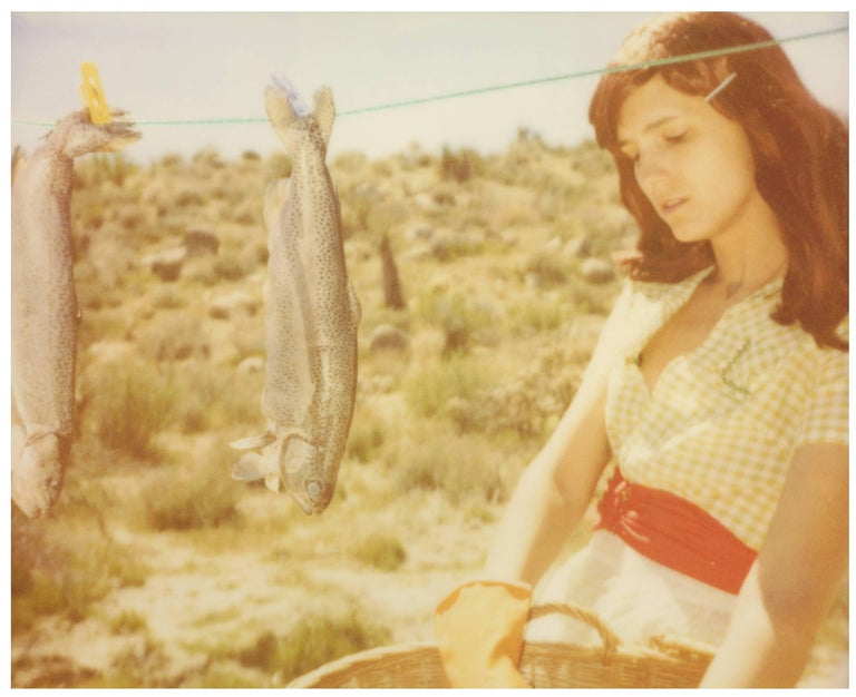 Stefanie Schneider Portrait Photograph - To the Wonder - Contemporary, Figurative, Polaroid, Expired, Photograph