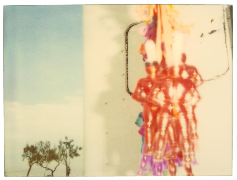 Stefanie Schneider Portrait Photograph - Today's Heros (Suburbia) - Contemporary, Polaroid, Photography, Portrait