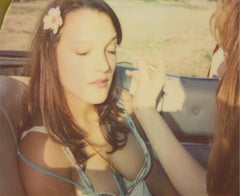 Touching - Contemporary, 21st Century, Polaroid, Figurative, Photograph, Woman