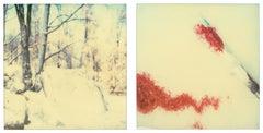 Traces (Stranger than Paradise) - analog, mounted, Polaroid, Contemporary