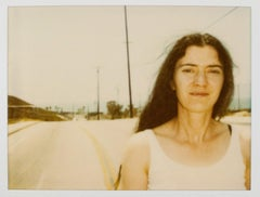 Unknown Girl X - Original Polaroid Unique Piece