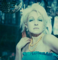 Untitled 10 (Cyndi Lauper) - record cover shoot