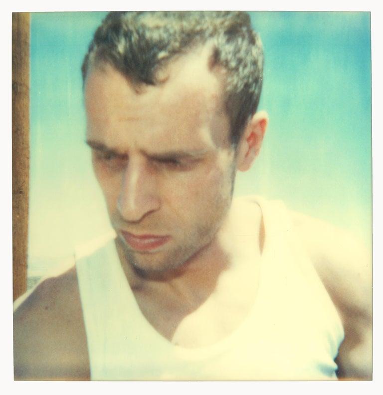 Stefanie Schneider Portrait Photograph - Untitled - Contemporary, 21st Century, Polaroid, analog, hand-print, mounted