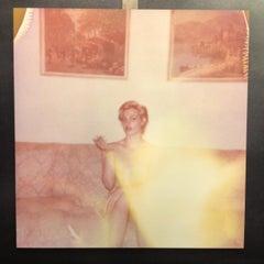 'Untitled II' (Cricket on the Nose Scene) -  Contemporary, Polaroid, Figurative