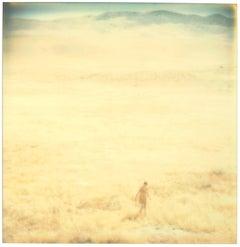 Untitled (Oilfields) 128x125cm, Edition 3/3 - Contemporary, Polaroid, Landscape