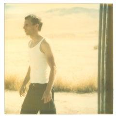 Untitled (Oilfields) - Contemporary, 21st Century, Desert, Polaroid, Figurative