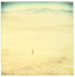 Untitled (Oilfields) - Contemporary, 21st Century, Desert, Polaroid, Landscape