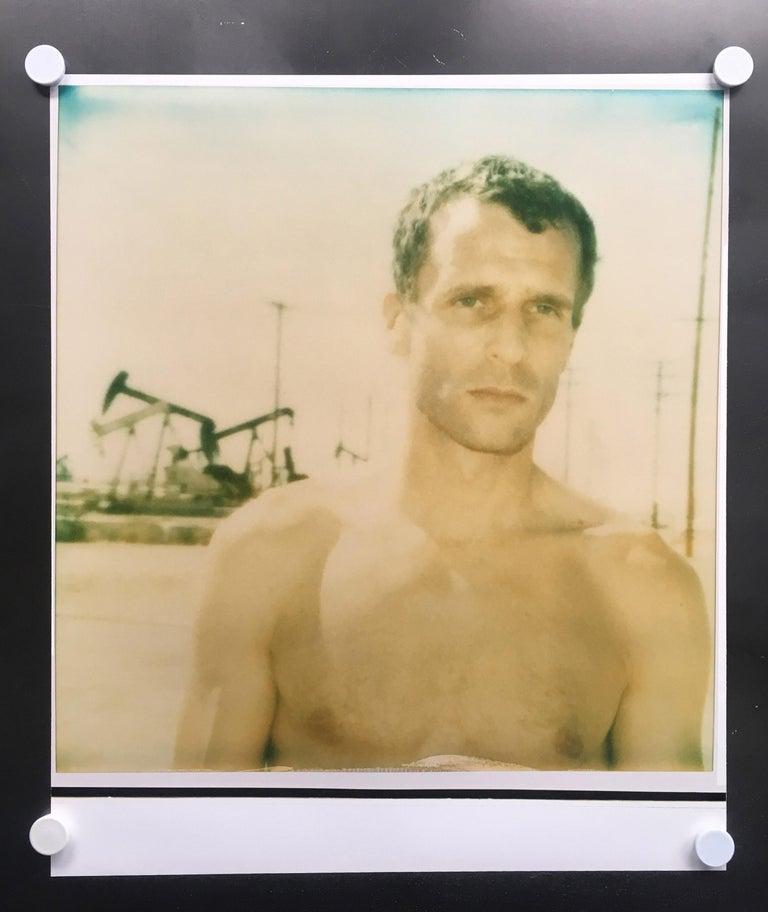 Stefanie Schneider Color Photograph - Untitled - Oilfields / Contemporary, Polaroid, Analog, Photograph,