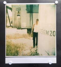 Untitled (Oilfields) - Contemporary, Polaroid, Photograph, Analog, Enlargement