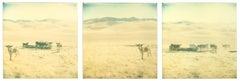 Untitled (Oilfields) triptych - Contemporary, 21st Century, Polaroid, Landscape