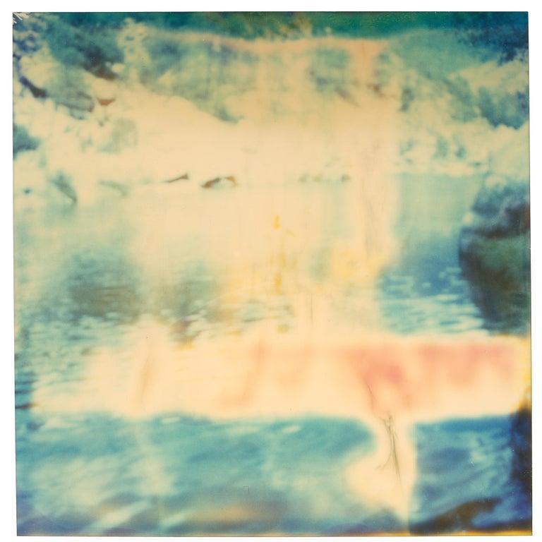 Stefanie Schneider Color Photograph - Untitled (Paradise) - Contemporary, Nude, Men, Polaroid