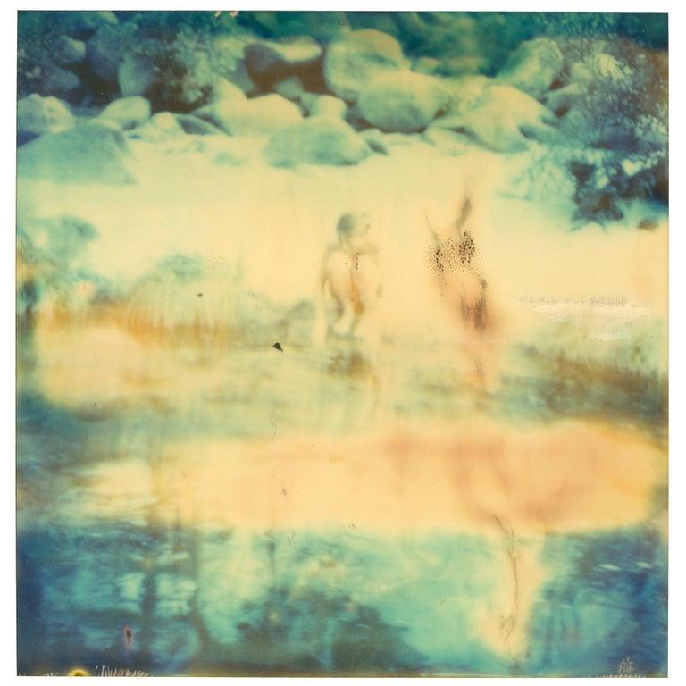 Stefanie Schneider Nude Photograph - Untitled (Paradise) - Contemporary, Nude, Men, Polaroid