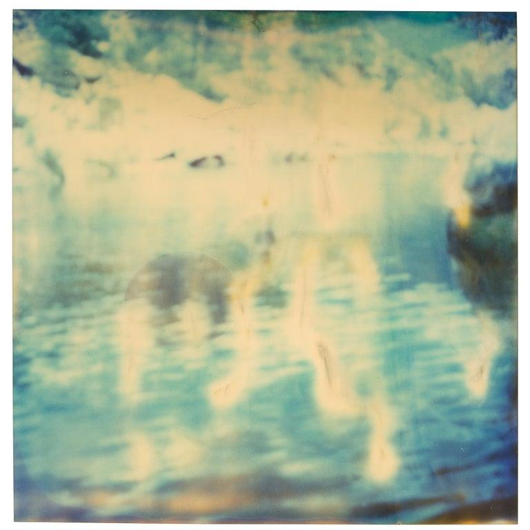Stefanie Schneider Abstract Photograph - Untitled (Paradise) - Contemporary, Nude, Men, Polaroid