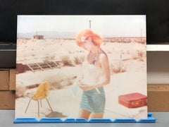 Untitled - Stage of Consciousness (29 Palms, CA) - analog, mounted